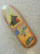 """Santa Cruz Natas Kaupus Kitten 9.89"""" Reissue Skateboard Deck Old School ONLY ONE"""