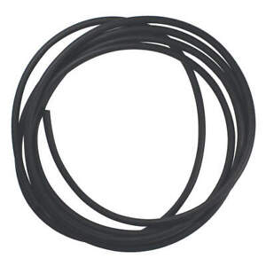GRAINGER APPROVED ZUSA-RC-684 Rubber Cord,EPDM,3/8 In Dia,10 Ft