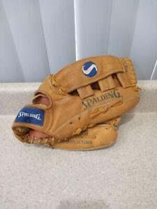 "SPALDING Adult 13.5"" Softball Mitt Left 42-055 Baseball Glove Competition Series"