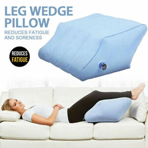 Large Inflatable Elevation Wedge Leg Foot Rest Raiser Support Pillow Cushion UK