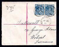 Australia 1901 5d Registered Richmond Cover to Tasmania WS17877
