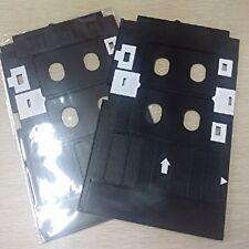 2 PCS PVC ID Card Tray for Epson L800, L805, L810 & L850 Printer + 10 Cards