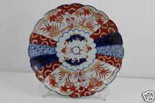 Antique Imari Japanese Arita Scalloped Plate Meiji Period - 19th Century 22cm D