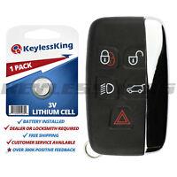Keyless Entry Remote Car Key Fob for Land LR2 LR4 Range Rover KOBJTF10A