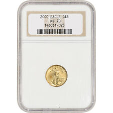 2000 American Gold Eagle 1/10 oz $5 - NGC MS70