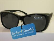 FOSTER GRANT POLARIZED SOLAR SHIELD FIT OVER SUNGLASSES LARGE SIZE   F1