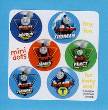 60 Thomas the Tank Engine Train Mini Dot Stickers - Party Favors - Rewards