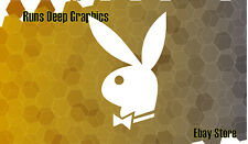 PLAYBOY BUNNY Sexy Car Decal Vinyl Sticker / Different colors / $ 0.99 Starting