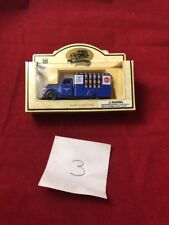 CHEVRON COMMEMORATIVE Model DIE-CAST Metal Roof Coating flat Bed Truck Classic