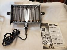 Antique Sunbeam #4 Flat Toaster with papers! Clean Cond.,  Circa 1920's