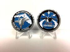 F-35 3D Lightning II Eglin AFB, FL challenge coin