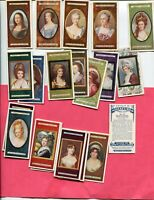1923 JOHN PLAYER & SONS MINIATURES COMPLETE SET 25 CIGARETTE CARDS PAINTINGS