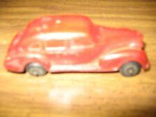 Antique Auburn rubber toy car