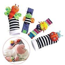 Cotton Rattle Set Baby Sensory Toys Foot-finder Socks Wrist Rattle Bracelet Cute