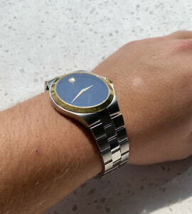 $1095 Men's Movado Collection  Stainless Steel Quartz Watch