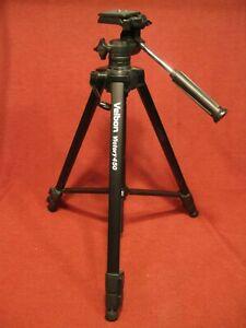 Velbon Victory 150 Tripod W/ Quick Release Plate, Telescoping Legs, Very Good
