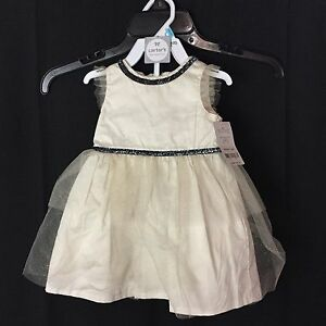 NWT Carter's Baby Girls 6M Dress & Diaper Cover