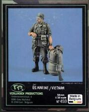 Verlinden 1:35  54mm USMC Marine Soldier Seabag M16 Rifle Resin Figures Kit #459