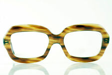 VINTAGE 1960's CLEAR MAPLE WOOD WASH ZYL FRAMES NOS DEADSTOCK FRANCE HAND MADE
