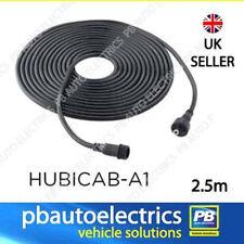 Concentrador solar o Hubi 2.5 metros de cable de extensión para paneles o tira luces DC5521-2M