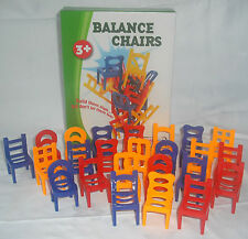 NEW BALANCE CHAIRS BALANCING STACKING GAME ACKERMAN
