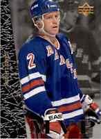 1996-97 Upper Deck MVP Brian Leetch #UD30