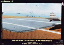 EDUARD 1:48 ACCESSORI PER DIORAMA JAPAN NAVY AIRCRAFT CARRIER DECK ART 8803