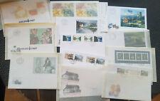 Schweiz FDC Sammlung Blöcke und Markenheftchen aus ABO