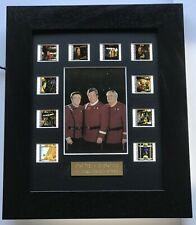 More details for star trek generations montage limited edition original filmcell memorabilia coa