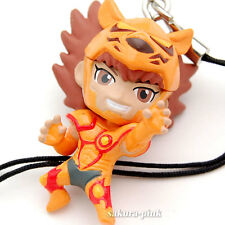 Lionet Souma Saint Seiya Omega Mini Figure with Strap Key Chain Authentic BANDAI
