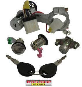 Ignition + Door Locks + Hatch Lock For Nissan Pulsar N14 Hatch 91 to 95