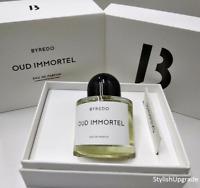 BYREDO Oud Immortel Eau De Parfum Spray New Box 3.3 Oz/100 ml SALE and GIFT