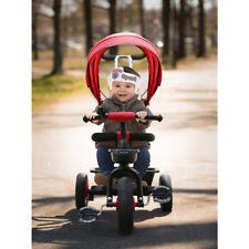 Kinderkraft Kinderdreirad Kinderwagen 3in1 Lenkstange Dach Fahrrad Einstellbar
