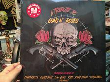 A TRIBUTE TO GUNS N ROSES Red Vinyl LP Cinderella Quiet Riot LA GUNS & more