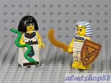 LEGO Series 5 & 13 - Egyptian Queen & Warrior Minifigure Cleopatra Collectible