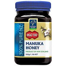 MGO 550+ Manuka Honey - 500g
