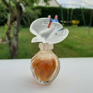 Flacon parfum factice cristal Ancien Nina Ricci l'air du temps 15ml vintage rare