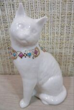 Lenox China Jewels Collection Sitting Cat Figurine Made In Usa 1994 No Box C4