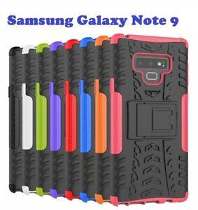 Various Samsung Galaxy Heavy Duty Shockproof Bumper Hybrid Armor Stand Case
