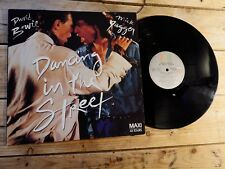 DAVID BOWIE MICK JAGGER DANCING IN THE STREET MAXI EP 33T VINYLE EX COVER EX '85