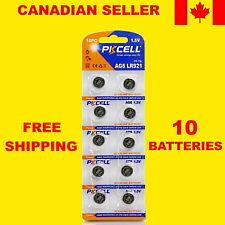 371 SR920SW Watch Battery 1.55V SR69 SR921 AG6 Alkaline Batteries Pkcell -10 Pcs