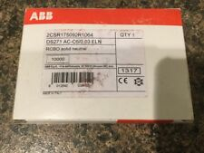 ABB DS271 AC-C6/0, 03 ELN 6A Tipo C RCBO 2CSR17509R1064