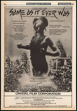 Kumbha Mela_Same As It Ever Was_Orig. 1983 Trade Ad promo_poster_Talking Heads