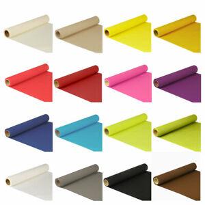 Einweg Tischläufer aus 4-lagigem Tissue, 5 m x 40 cm Rolle | viele Farben