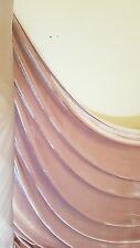 1m SOFT SMOOTH dusky PINK STRECH VELOUR / VELVET FABRIC 58INCES WIDE