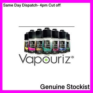 SAMEDAY POSTING  Vapouriz E-Liquid Vape Refill Juice 5x10ml Bottles=£11.95