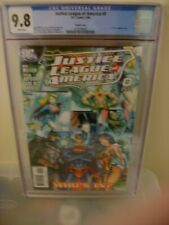 JUSTICE LEAGUE OF AMERICA #0 CGC 9.8 J SCOTT CAMPBELL 1:10 VARIANT DC