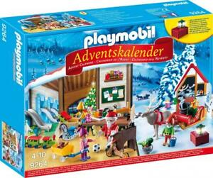 Playmobil Spielzeug Adventskalender Wichtelwerkstatt Weihnachtsmann Werkstatt