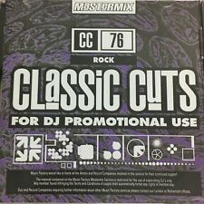 Mastermix Classic Cuts CD - Rock (CC76)