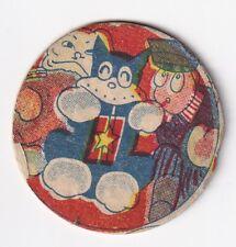 1930'   Japanese   Menko  Card ' NORAKURO  '  Manga / Anime / 4 cm